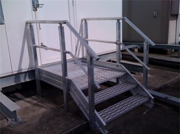 Custom Design and Installation for Access Stairs