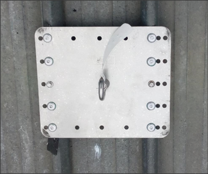Roof Anchor for Fall Arrest System