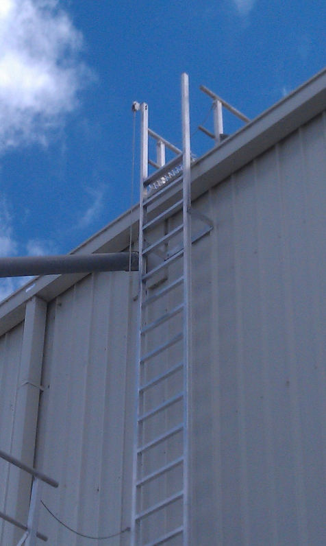 Vertical Lifeline for Safe Roof Access