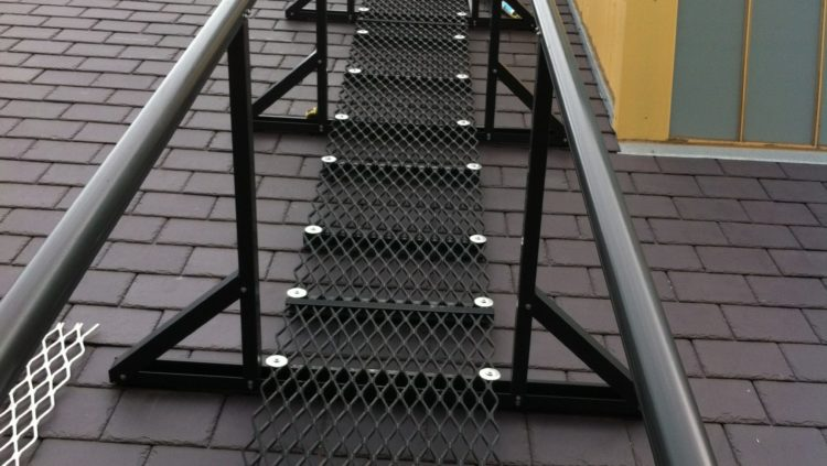 Walkway System With Handrail