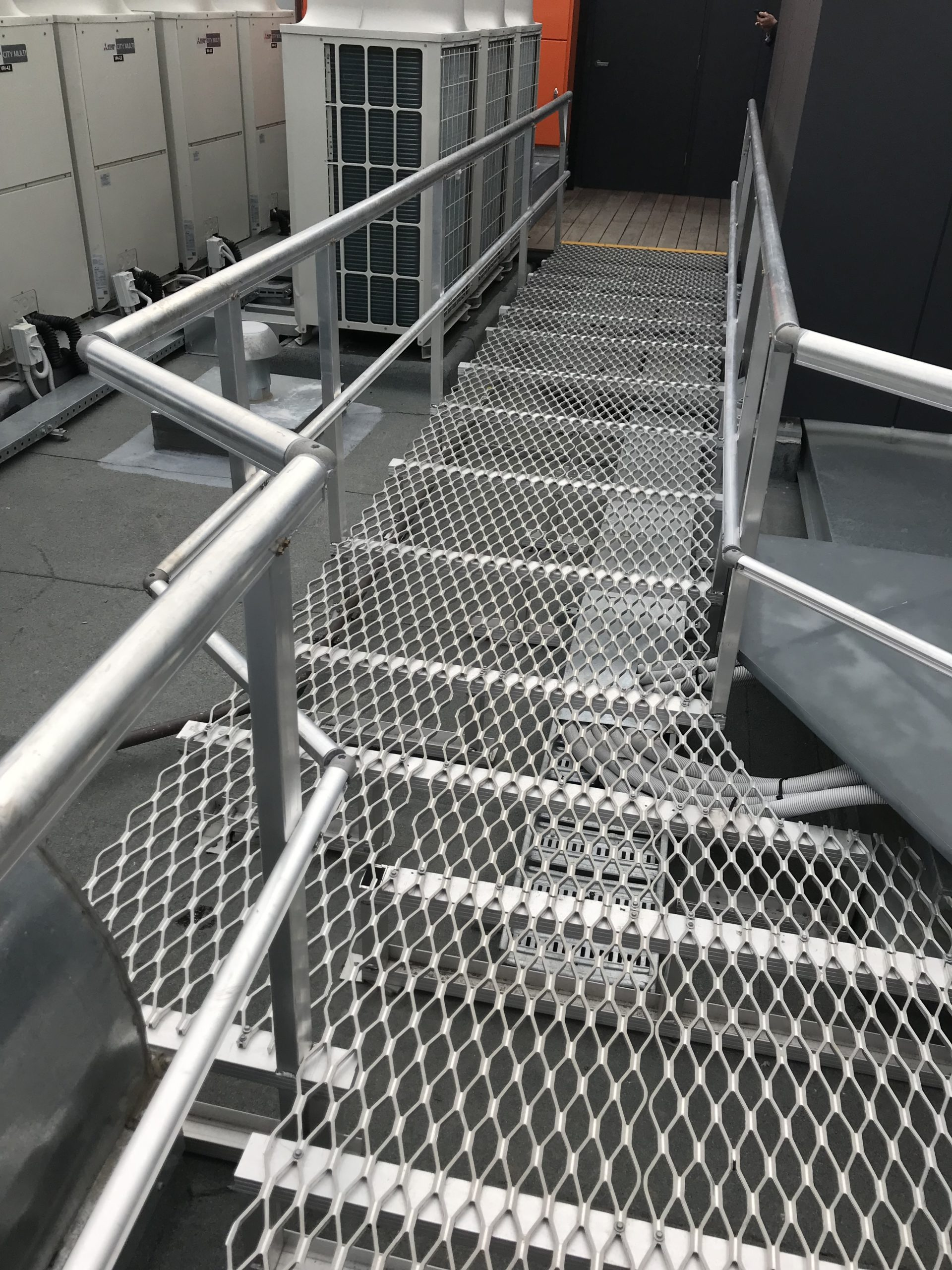 Walkway with Handrail