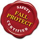 The Fall Protect Logo represents our solutions for fall protection in Melbourne.